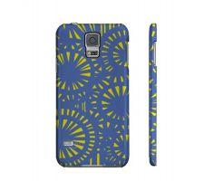Buy Henschel Yellow Blue Samsung Galaxy S5 Phone Case