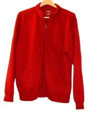 Buy EUC women's, Sz. M, L.L.Bean, deep red, long sleeve, zip-up sweatshirt