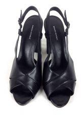 Buy Banana Republic Shoes 10 Womens Black Leather Heels