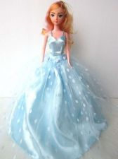 Buy BLUE EVENING GOWN PARTY COSTUMES DRESS UP OUTFIT FANCY FASHION FOR BARBIE, DOLLS