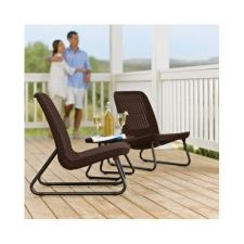 Buy NEW 3- PIECE PATIO SET, BISTRO, GARDEN AND DECK LOUNGING