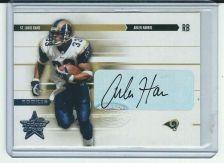 Buy NFL Arlen Harris 2003 Leaf Rookies And Stars Auto Card 79/750 Rams