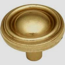 "Buy 1 Belwith # P411-LP LANCASTER BRASS 1-1/4"" Cabinet Knobs PULL"