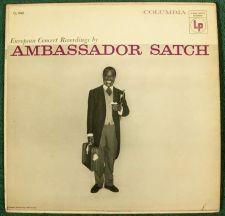 "Buy LOUIS ARMSTRONG ~ Ambassador Satch 1956 Jazz LP Columbia ""Six-Eye"""