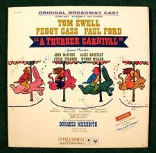 Buy A THURBER CARNIVAL ~ 1960 Original Broadway Cast LP