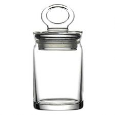 Buy Pasabahce Glass Jar Box to Keep Aromatic Herbs Fresh. Box Container In Gift box