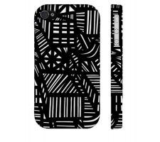 Buy Mims Black White Iphone 4/4S Phone Case