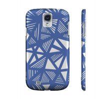 Buy Fiebelkorn Blue White Samsung Galaxy S4 Phone Case