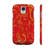 Buy Bridgeford Yellow Red Samsung Galaxy S4 Phone Case