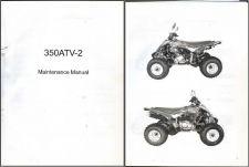 Buy Hisun HS350ATV-2 Service Repair Maintenance Manual CD ..- HS350 HS 350 ATV - 2
