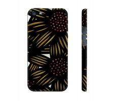 Buy Sabia Yellow Black Flowers Floral Botanical Iphone 5/5S Phone Case