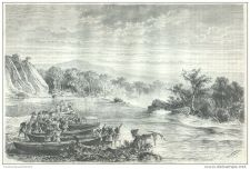 Buy ZANZIBAR (AFRICA) - DEATH OF KALOULOU - engraving from 1878