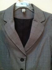 Buy Old Navy women's gray and black blazer/ jacket, size small