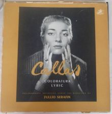 "Buy MARIA CALLAS Angel COLORATURA LYRIC CLASSICAL 230 GRAM RECORD 12"" 33 RPM IMPORT"