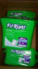 Buy 3 Packs 60ct Medline Fit Right Briefs Lot Adult Diapers Large Men/Women L Briefs