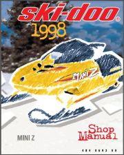 Buy 1998-2000 Ski-Doo Mini Z Snowmobile Service Shop Repair Manual CD - MiniZ