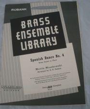 Buy Spanish Dance No. 4 - Moszkowski/ arr. Holmes - Brass Sextet