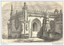 Buy PORTUGAL - THOMAR - CASA DO CAPITULO - 3 engravings from 1861