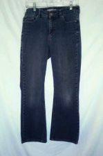 Buy EUC women's sz. 0.5 short CHICO'S Platinum, blue, distressed, skinny leg jeans