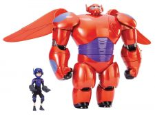 "Buy Big Hero 6 11"" Deluxe Flying Baymax with 4.5"" Hiro Action Figures"
