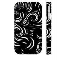 Buy Bozic Black White Iphone 4/4S Phone Case