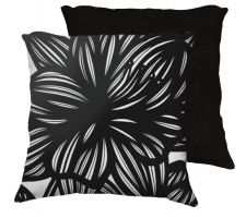 Buy Kallestad 18x18 Black White Pillow Flowers Floral Botanical Cover Cushion Case Throw