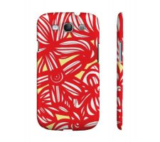 Buy Bokal Yellow Red White Samsung Galaxy S3 Phone Case Flowers Botanical