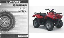 Buy 02-07 Suzuki LT-A400 LT-A400F Eiger 2X4 4X4 Service Repair Manual CD