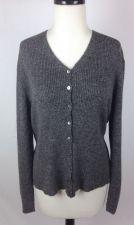Buy Valerie Stevens Sweater XL Womens Gray Wool Long Sleeve