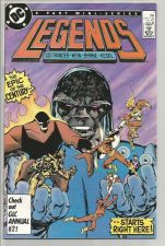Buy LEGENDS #1 Darkseid DC COMICS1986 VF Wein/John Byrne --1st print BRIMSTONE