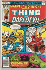 Buy Thing and Daredevil MARVEL TWO-IN-ONE #38 Marvel Comics 1978 Wilson