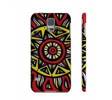 Buy Hlad Yellow Red Black Samsung Galaxy S5 Phone Case
