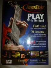 Buy JAM STAR VOL 1 PLAY W THE BAND VIDEO DVD-ROM guitar electric WINDOWS/ MAC- Learn