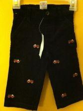 Buy Gymboree Black Corduroy Fire House Pants Boys Sz3-6m
