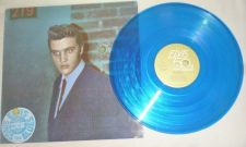 "Buy Elvis Presley Reconsider Baby 1985 12"" 50th anniversary blue colored vinyl 5418"