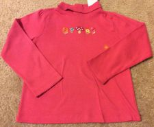 Buy Girl's Gymboree Woodland Friends L/S Pink Shirt Size 5t