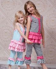 Buy Striped Capri Set