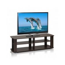 Buy TV Stand Entertainment Media Center Console Flat Wood Television LCD 60 New