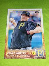 Buy MLB VANCE WORLEY PIRATES SUPERSTAR 2015 TOPPS GLOSSY #66 GEM MNT