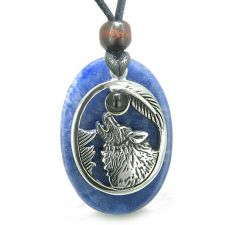 Buy Angel Wing White Snowflake Quartz Medallion Sky Blue Crystals Heart Feather 18 Inch P