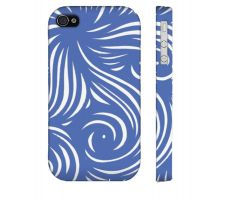 Buy Clavin Blue White Iphone 4/4S Phone Case