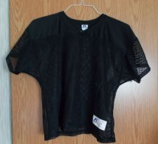 Buy Sz. Youth XL - Boys Black Mesh shirt by Russell Athletic
