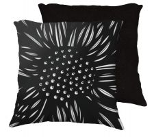 Buy Forward 18x18 Black White Pillow Flowers Floral Botanical Cover Cushion Case Throw Pi