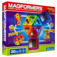 Buy Magformers Rainbow 30 Piece Set