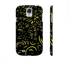 Buy Magner Yellow Black Samsung Galaxy S4 Phone Case Flowers Botanical