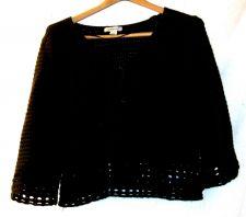 Buy EUC womens, Sz. L, Style & Co. brown, 3/4 sleeve, cardigan, sweater