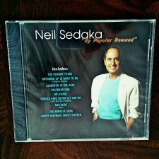 Buy CD Neil Sedaka By Popular Demand Sealed 1996 Phil Cody Howard Greenfield MIP