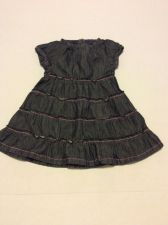 Buy Paper Denim & Cloth Denim Jean Dress Size 18-24 Months