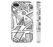 Buy Bertoni Black White Iphone 4/4S Phone Case