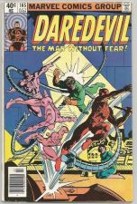 Buy Daredevil #165 MARVEL COMICS 1980 McKenzie Frank Miller Jansen